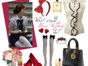 get blair waldorf's look