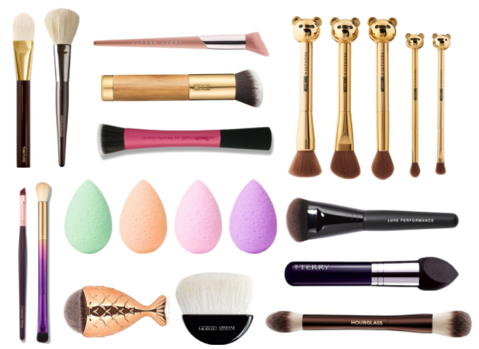 cleaning make-up brushes